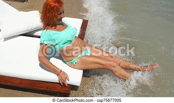 Granny swimsuit