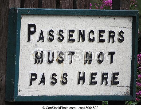 You've been warned - csp18964822