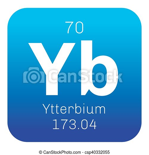 Ytterbium chemical element ytterbium is an element in the element ytterbium is an element in the lanthanide series colored icon with atomic number and atomic weight chemical element of periodic table urtaz Images