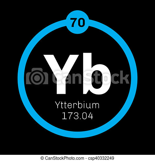 Ytterbium Chemical Element Ytterbium Is An Element In The