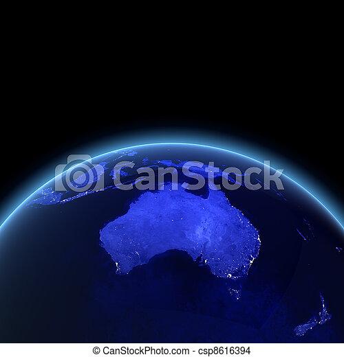 zélande, nouveau, australie - csp8616394