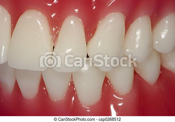 Zähne - csp0268512