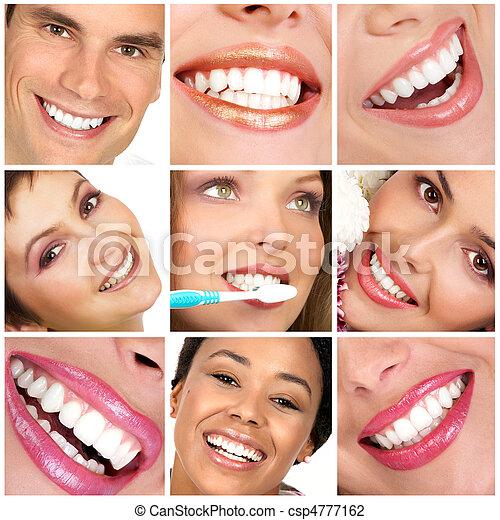 Zähne - csp4777162