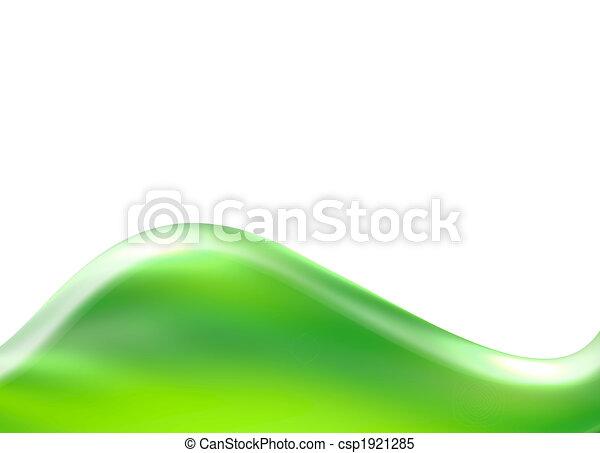 zöld, lenget - csp1921285
