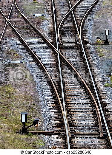 zacht, treinen - csp23280646