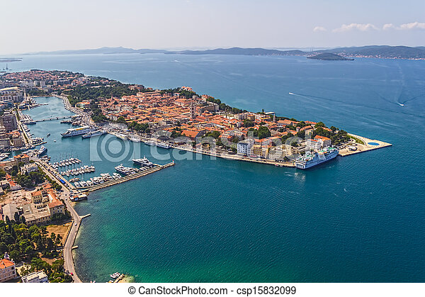 Zadar aéreo - csp15832099