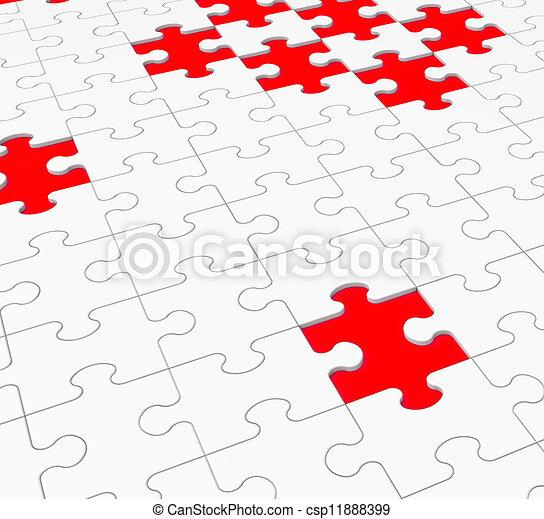 zagadka, otwory, otwory, niedokończony, widać - csp11888399
