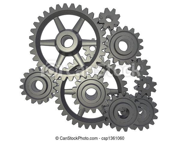Zahnrad mechanismus zahnrad weier hintergrund freigestellt zahnrad mechanismus csp1361060 thecheapjerseys Image collections