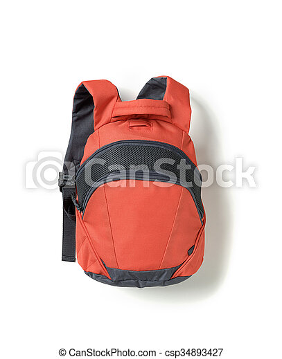 zaino, rosso - csp34893427