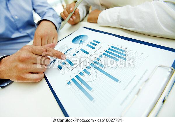 zakelijk, analyse - csp10027734