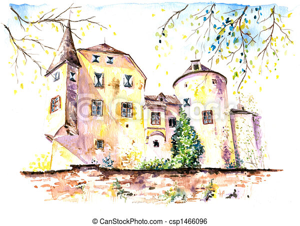 zamek - csp1466096