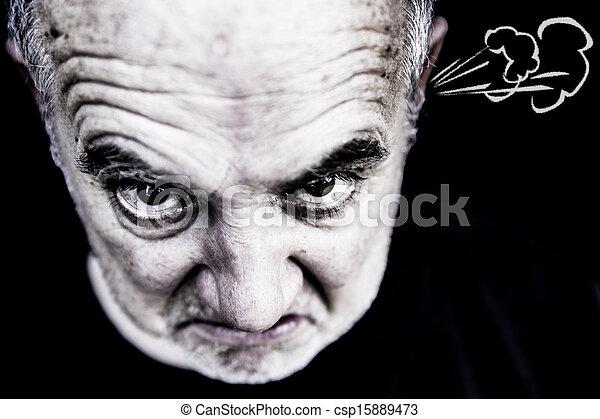 zangado, homem - csp15889473