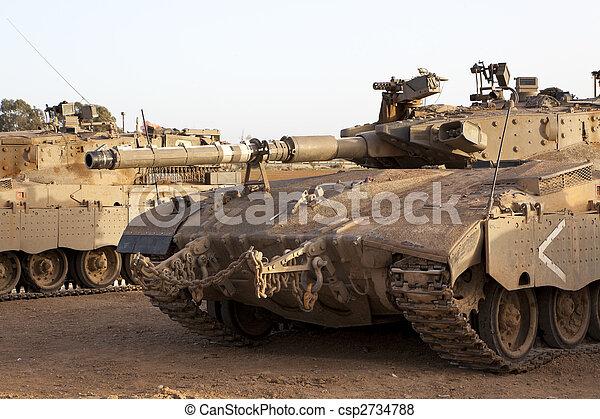 zbiornik, merkava, baz, mk, 4, bitwa, główny kanał - csp2734788