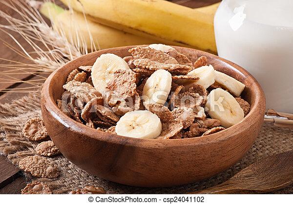 zdrowe śniadanie - csp24041102