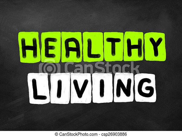 zdrowe życie - csp26903886