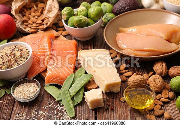 zdrowe jadło, dobrany - csp41960386