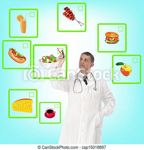zdrowe jadło - csp15018897