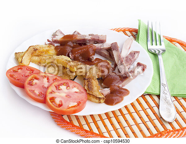 zdrowe jadło, zakąska - csp10594530