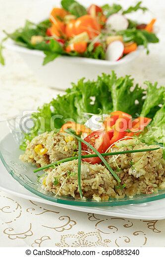 zdrowe jadło - csp0883240
