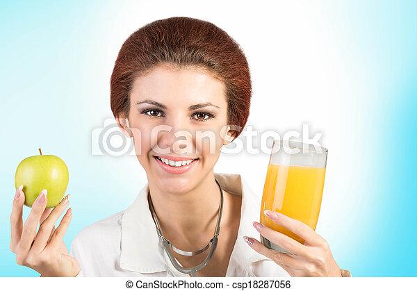 zdrowe jadło - csp18287056
