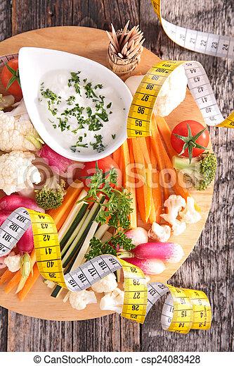 zdrowe jadło - csp24083428