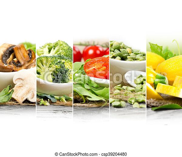 zdrowe jadło, zmieszać - csp39204480