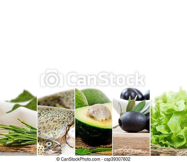 zdrowe jadło, zmieszać - csp39307602