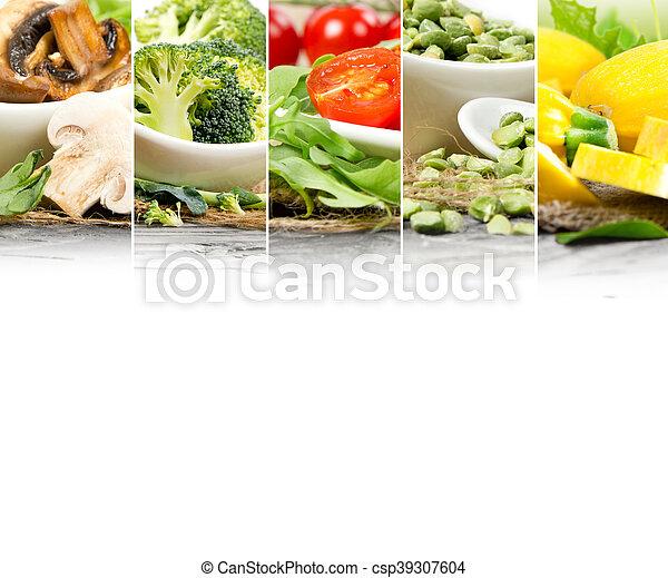 zdrowe jadło, zmieszać - csp39307604
