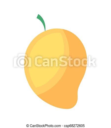 zdrowy, świeży, mangowiec, owoc - csp68272605