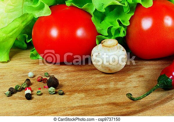 zdrowy, jadło. - csp9737150