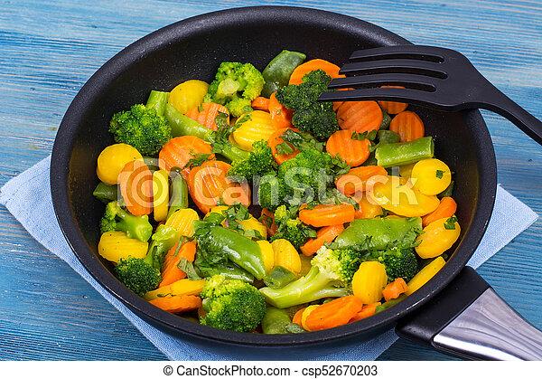 zdrowy, roślina, jadło., zmieszać - csp52670203