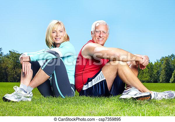 zdrowy, sala gimnastyczna, lifestyle., stosowność - csp7359895