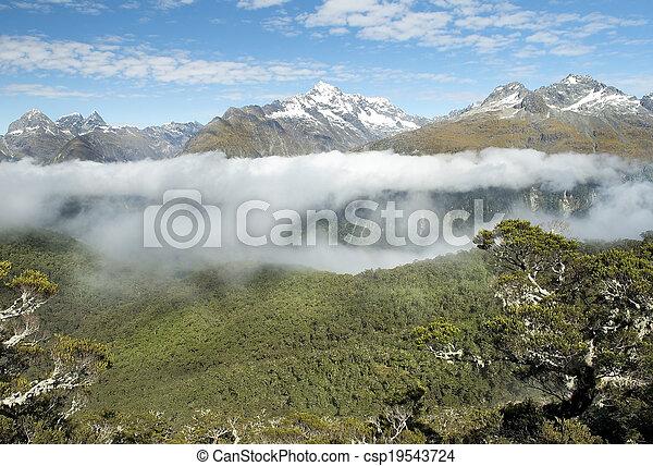 Magníficos paisajes de Nueva Zelanda - csp19543724