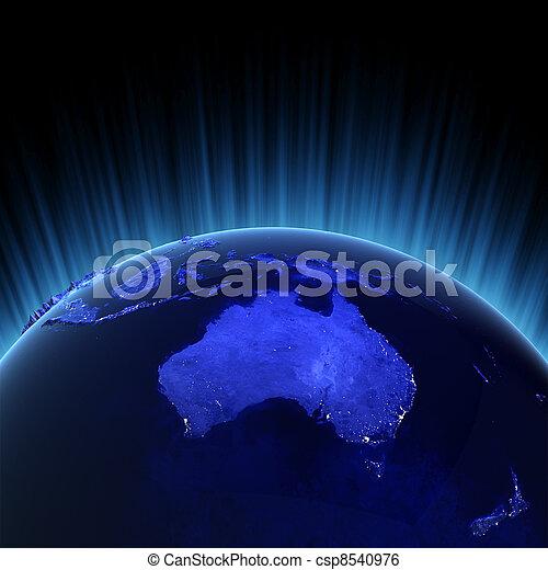 Australia y Nueva Zelanda - csp8540976