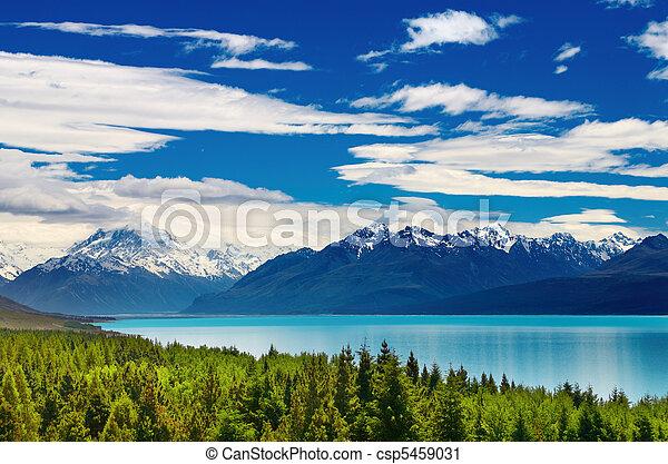 Mount Cook, Nueva Zelanda - csp5459031