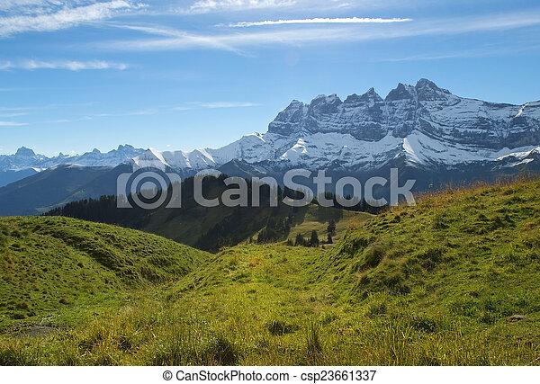Paisajes de Nueva Zelanda - csp23661337