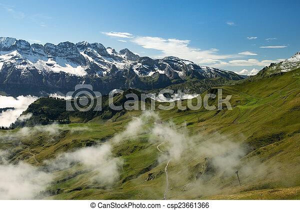 Paisajes de Nueva Zelanda - csp23661366