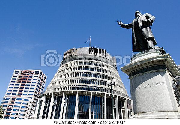El Parlamento de Nueva Zelanda - csp13271037