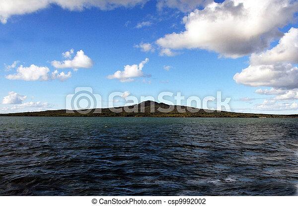 Nueva Zelanda sonó a la isla - csp9992002