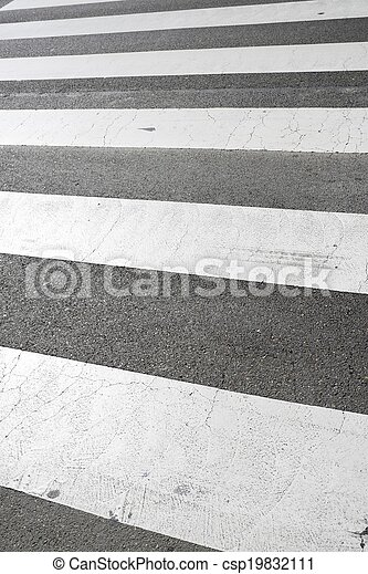 Zebra crossing - csp19832111