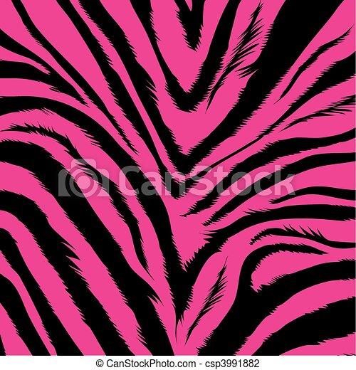 zebra, fond, -, fourrure - csp3991882