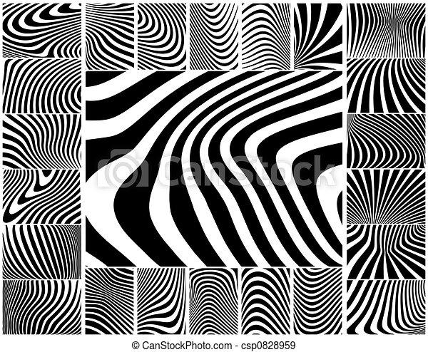 Zebra stripes - csp0828959