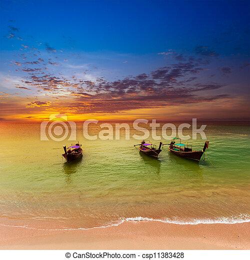 zee, landscape, achtergrond, natuur - csp11383428