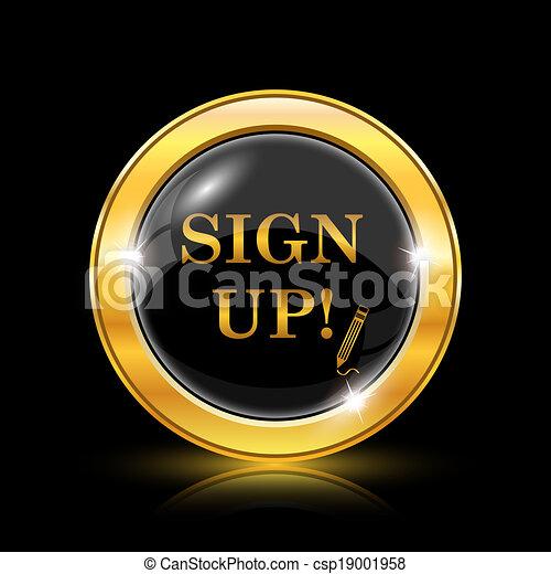 Unterschreiben Sie - csp19001958