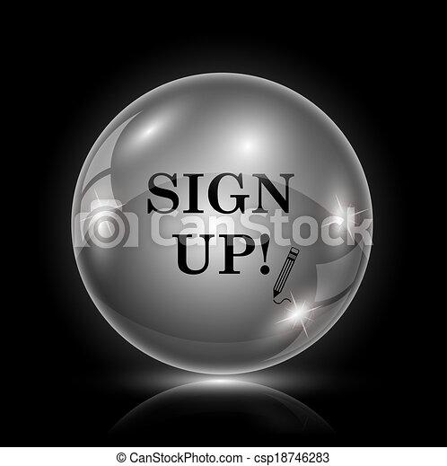 Unterschreiben Sie - csp18746283