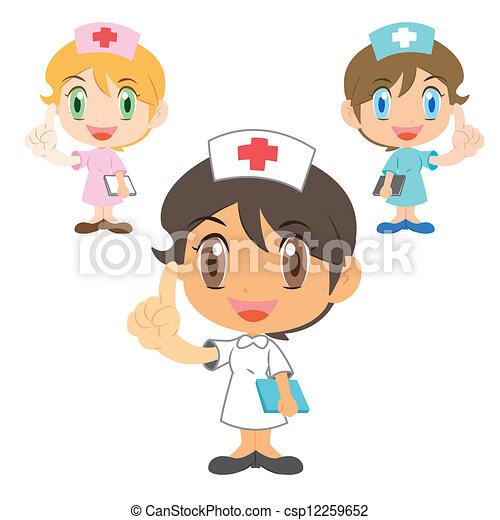 Schwester , Kartoon Charakter - csp12259652
