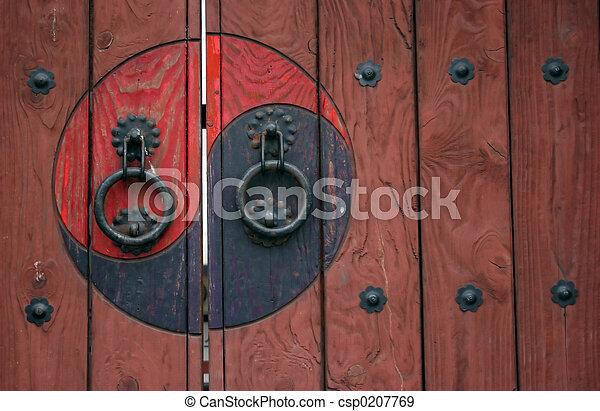 Zen door - csp0207769