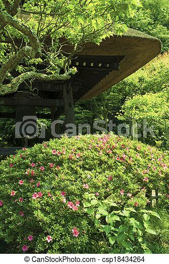 zen garden - csp18434264