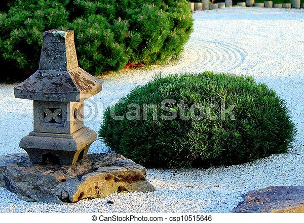 Pagode Klein Stein Zen Garten