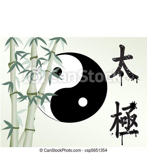 Zen like bamboo - csp5651354